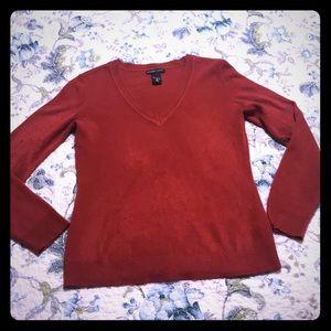 Red Jones & New York Sweater